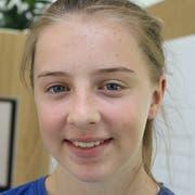 Mia Stänz (13), Stettfurt. (Bild: Christof Lampart)