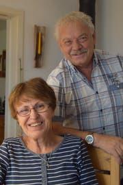 Für einmal in Zuzwil: Annemarie und Willi Rüegg (Bild: Tobias Söldi)