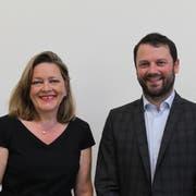 Die CVP Uri nominiert Heidi Z'graggen und Simon Stadler. (Bild: Markus Zwyssig, Altdorf, 26. Juni 2019)