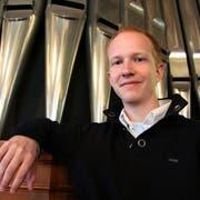 Der Organist Simon Menges. (Bild: Max Eichenberger)