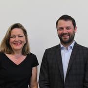 Heidi Zgraggen und Simon Stadler: So heisst das Ticket der CVP. (Bild: Markus Zwyssig)