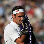 Roger Federer steht zum zwölften Mal im Wimbledon Final. (Bild: Keystone)