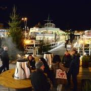 Der Hafenadvent war ein beliebter Treffpunkt in der Vorweihnachtszeit. (Bild: PD)