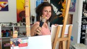 Jennifer Gehr in ihrem Kurslokal an der Wilerstrasse in Flawil. (Bild: Andrea Häusler)