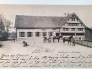 Das Restaurant Neuhaus an der Strasse zwischen Niederuzwil und Wilen.