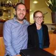Marc und Selina Tuchschmid führen ab Februar 2020 das Restaurant Mettlenhof. (Bilder: Christoph Heer)