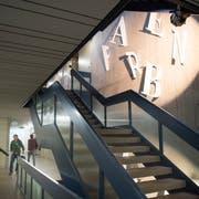 Eine von neun Berufsschulen im Kanton: Das Gewerbliche Berufs- und Weiterbildungszentrum St. Gallen. (Bild: Ralph Ribi)