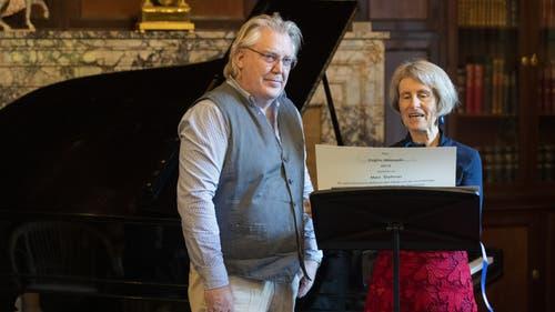 Max Dohner erhält den Premio Masciadri. (Bild: Alex Spichale)