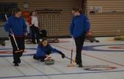 An den Curling Open Days kann jede und jeder die Sportart ausprobieren. (Bild: PD)