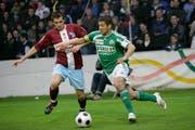 Das letzte Spiel von Davide Callà im Espen-Trikot endete mit dem Abstieg im Jahr 2008. (Bild: Ralph Ribi)