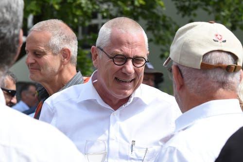 Herisaus Gemeindepräsident Renzo Andreani ist ein stolzer Gastgeber.