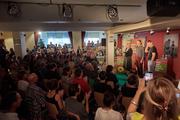 Wahlkampf-Anlass der Grünen im Freitaler Kulturhaus. (Bild: CH Media)