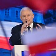 PiS-Chef Jaroslaw Kaczynski. (Bild: Alik Keplicz/AP, Warschau, 2. September 2018)