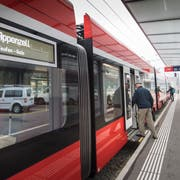 Mit der neuen Durchmesserlinie können ÖV-Passagiere ohne Umsteigen vom Marktplatz zum Güterbahnhof und ins Riethüsli fahren. (Bild: Ralph Ribi, 19. Oktober 2018)