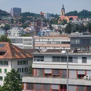 Blick auf die Gemeinde Emmen. (Bild: Boris Bürgisser, 14. Juni 2018)