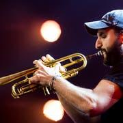 Der libanesische Trompeter Ibrahim Maalouf. (Bild: Jean-Christoph Bott)