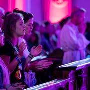 Am Samstag, 6. Juli, fand der Weltjugendtag in der Hofkirche Luzern statt. (Bild: Philipp Schmidli, Luzern, 6. Juli 2019)