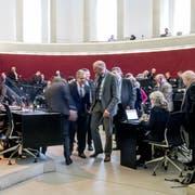 Blick in den Ratsbetrieb des Luzerner Kantonsparlaments: Dieses hat vor wenigen Wochen die Aufgaben- und Finanzreform zum ersten Mal beraten. (Bild: Nadia Schärli, 28. Januar 2019)