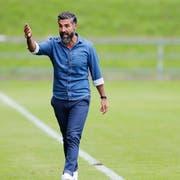 «60 Minuten konnten wir den Favoriten ärgern», sagte Trainer Ergün Dogru. (Bild: Stefan Kaiser, Zug, 17. August 2019)