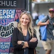 Alle zwei Jahre besucht Barbara Looser wenn möglich das Open Air St.Gallen. Und reist dafür um die halbe Welt. (Bild: Michel Canonica)