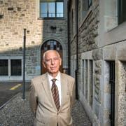 Heute reist der 79-jährige Pavel Hoffmann umher und erzählt seine Geschichte. (Bild: Urs Bucher (St.Gallen, 26. September 2016))