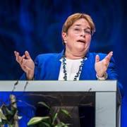 Magdalena Martullo-Blocher am Rheintaler Wirtschaftsforum. (Bild: Michel Canonica)