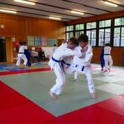 Die Judokas des JC Buchs trainierten fleissig auf die Kantonalmeisterschaften hin und sind bereit, um die Podestplätze mitzureden. (Bild: PD)