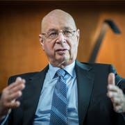 Fühlt sich als Schweizer: WEF-Gründer Klaus Schwab. (Bild: Mathias Marx)