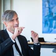 «Wir sollten nie eine Region als Gewinner oder Verlierer hinstellen», sagt Sebastian Wörwag. (Bild: Urs Bucher)