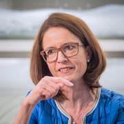 Ständeratskandidatin Susanne Vincenz-Stauffacher im Interview. (Bild: Urs Bucher)