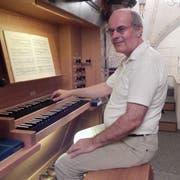 Hilmar Gertschen, Organist aus dem Oberwallis. (Bild: PD)