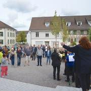 Wigoltingen feiert die Einweihung des neuen Dorfplatzes. (Bild: Margrith Pfister-Kübler)