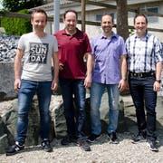 Der Tobler Gemeinderat in seiner derzeitigen Zusammensetzung: Roger Kernen, Gemeindepräsident Rolf Bosshard, Stefan Blum, Andreas Eggenberger und Rolf Frei.