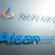 Alcon ist nun ein eigenständiges Schweizer Unternehmen. (Bild: KEYSTONE/Urs Flueeler)