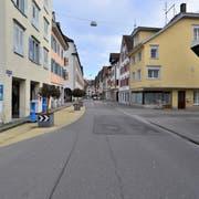 Die Hauptstrasse in der Arboner Altstadt. (Bild: PD)