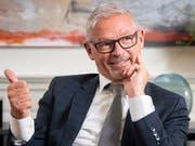 Regierungsrat Martin Klöti (65, FDP SG) zeigt sich erfreut über die Befürwortung der Ehe für alle. (Bild: Urs Bucher)