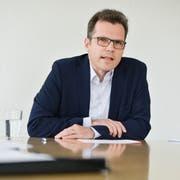 Dominik Diezi hat seine Kandidatur als Stadtpräsident von Arbon bekannt gegeben. (Bild: Donato Caspari)