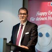 Jörg Riboni, abtretender CFO bei Emmi, wird von Hochdorf und den ZMP als neuer Verwaltungsrat bei Hochdorf vorgeschlagen. (Foto: Eveline Beerkircher)