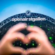 Das Open Air lockt jedes Jahr Zehntausende Besucher ins Sittertobel in St.Gallen. (Bild: Urs Bucher)