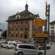 Hauptplatz Rathaus Schwyz Fotografiert am 21. September 2016 in Schwyz( Nadia Schärli / Neue Luzernerzeitung )