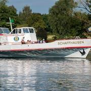 Schlatt TG - Die MS Schaffhausen beim Schlatt.
