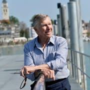 Marcel Trost auf dem Anlegesteg der Schweizerischen Bodensee Schifffahrt in Romanshorn. (Bild: Donato Caspari)