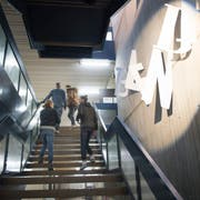 Das Berufs- und Weiterbildungszentrum St.Gallen ist stark sanierungsbedürftig. (Archivbild: Ralph Ribi)