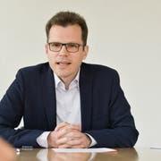 Am 1. Juni wird Dominik Diezi sein Amt als Arboner Stadtpräsident antreten. (Bild: Donato Caspari)