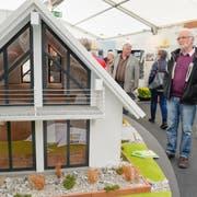 Neue Wohn- und Gartentrends zeigen sich an der Inhaus-Messe im Weinfelder Zentrum. ¨(Bild: Donato Caspari, 3. März 2017)