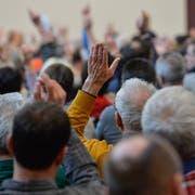 Die Versammlung der Gemeinde Wilen findet neu am 29. April statt. (Symbolbild: Donato Caspari)