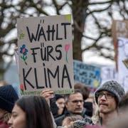 Welchen Einfluss hat die Klimabewegung auf die Nationalen Wahlen im Oktober? (Bild: Pius Amrein, Luzern, 2. Februar 2019)