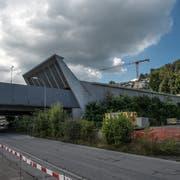 Die Krienser Parteien wehren sich gegen das Stassenbauprojekt Bypass . Darin ist unter anderem eine zweite Ausfahrt aus dem Sonnenbergtunnel vorgesehen. (Bild: Nadia Schärli, Kriens, 6. September 2016)