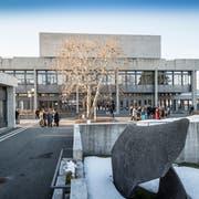 Hauptgebäude der Universität St.Gallen. (Bild: Hanspeter Schiess)