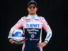 Sergio Perez (MEX, 29), Racing Point-Mercedes. Starts: 155, Siege: 0, WM-Punkte: 529. (Bild: Diego Azubel/Epa (Melbourne, 14. März 2019))